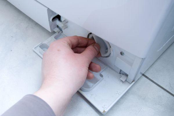 проверка фильтра стиральной машины