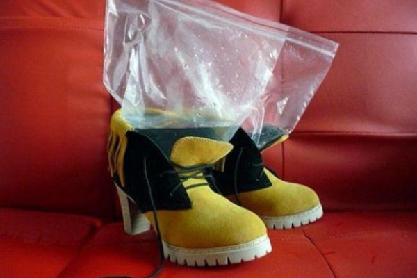 растяжка обуви льдом