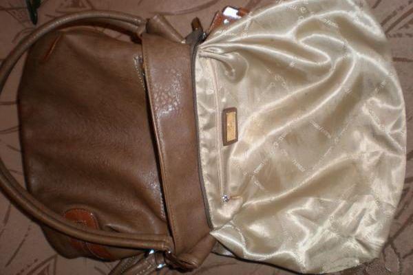 сушка подкладки сумки