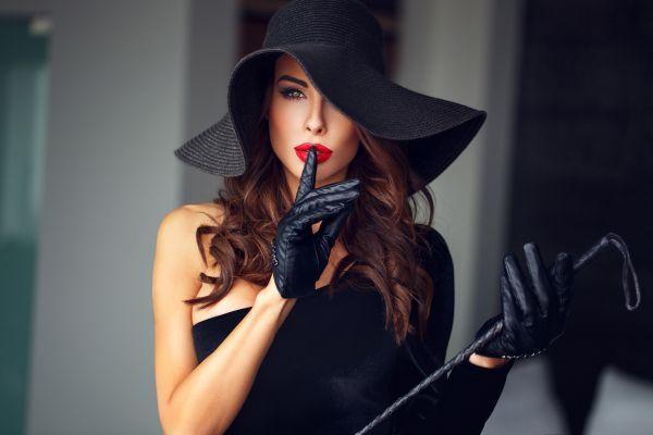 стильная дама
