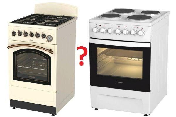 газовая или электро плита