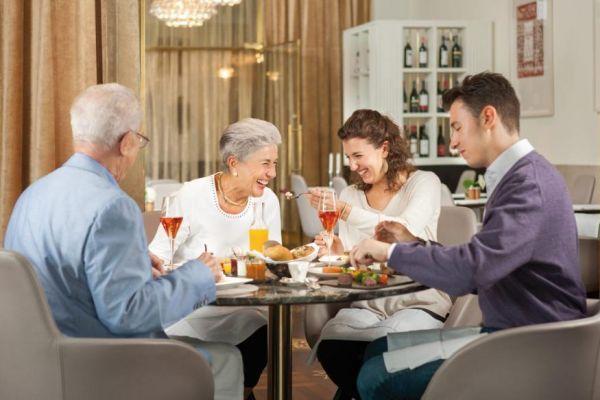 общение в кругу семьи