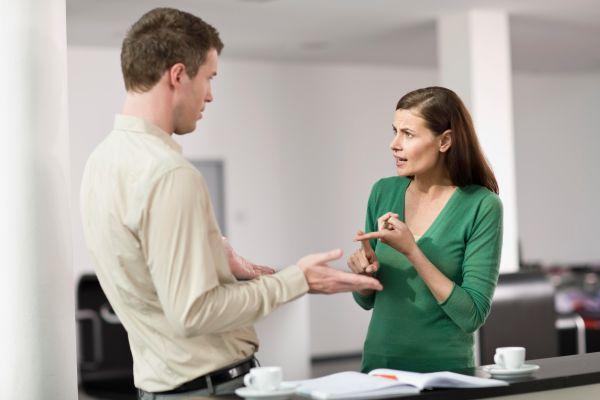 разговор мужчины и женщины