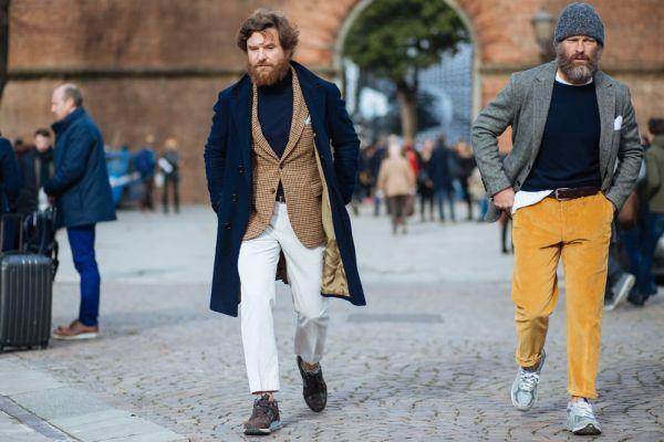 небрежный стиль в одежде