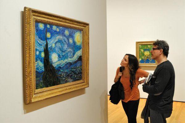 посещение галереи