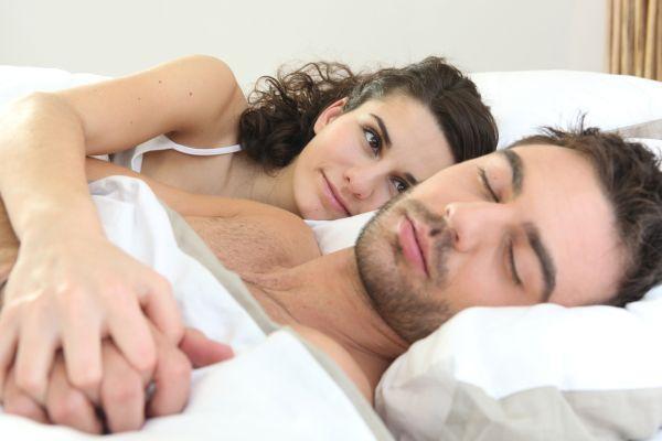спокойный сон мужчины