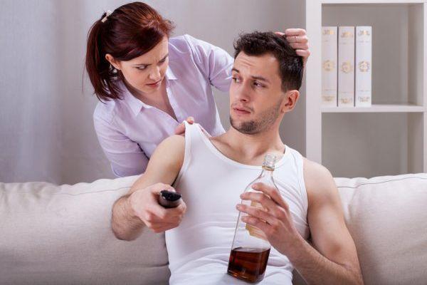 жена против пьянки мужа