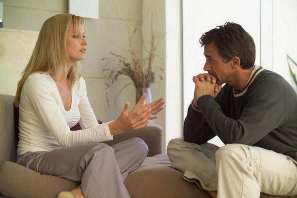 общение жены с мужем