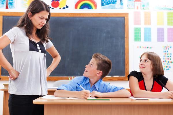 общение ученика с учителем