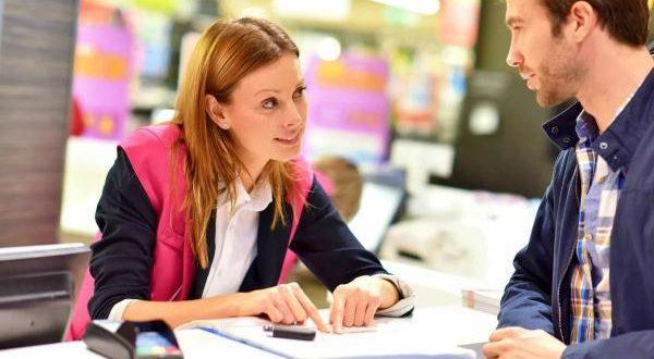 общение продавца и покупателя