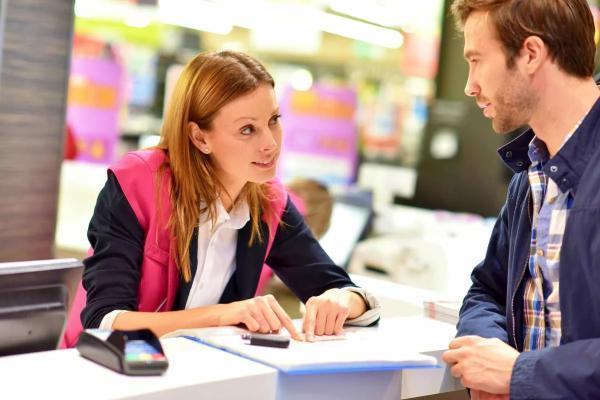 общение продаца и покуателя