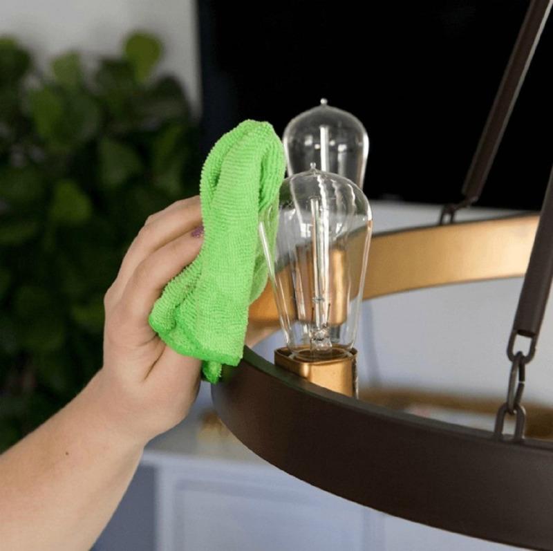вытираем пыль с лампочек