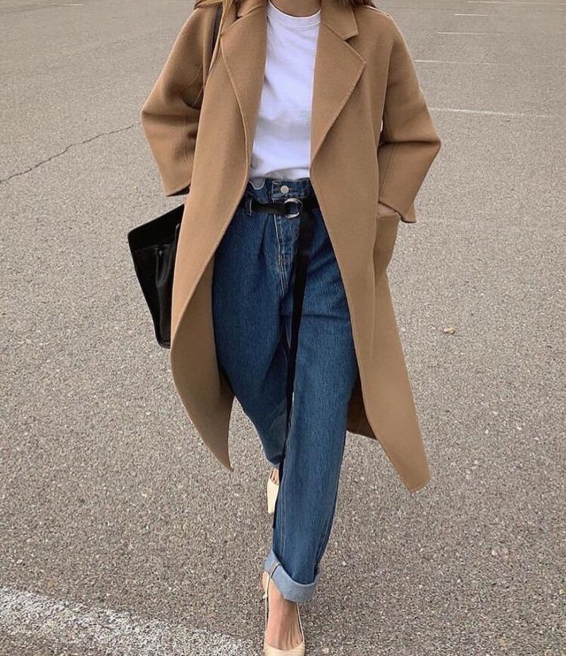 джинсы в мужском стиле