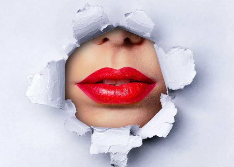 блеск губы